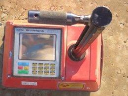 Equipo de medición de suelos extraviado