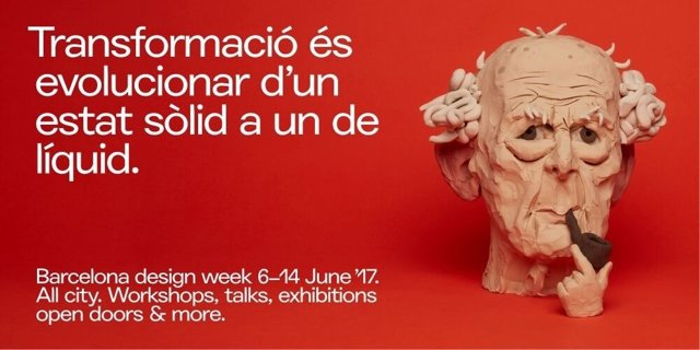 Cartel de la Barcelona Design Week