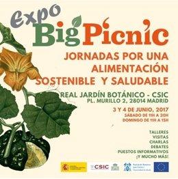 El Real Jardín Botánico acoge el 'Expo Big Picnic'