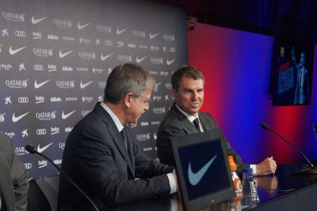 Robert Fernández, secretario técnico del FC Barcelona