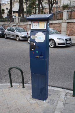 Parquímetro de Madrid