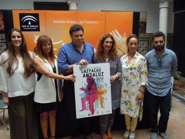 Presentación del 'Gazpacho' de Morón 2017