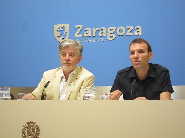 Santisteve y Muñoz, este jueves en rueda de prensa en el Ayuntamiento