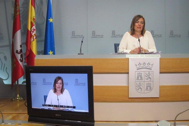 Valladolid. Marcos tras el Consejo de Gobierno del jueves