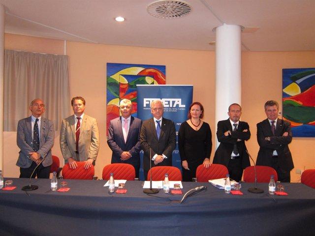 Rueda De Prensa Asamblea Femetal