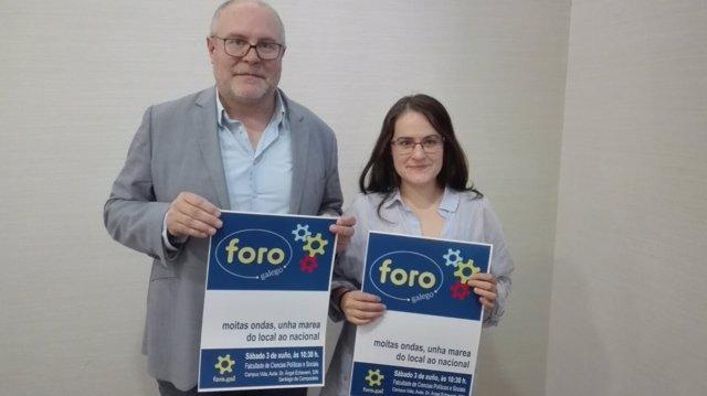 Presentación de la asamblea de Foro Galego