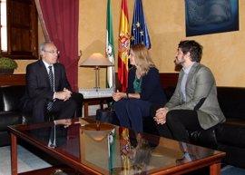 Juan Pablo Durán se reúne con la Unrwa, que agradece a los andaluces la ayuda prestada para llevar alimentos a Siria