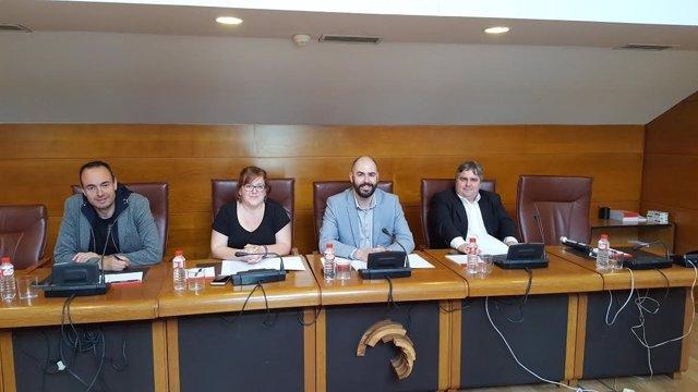 Dirigentes de Podemos