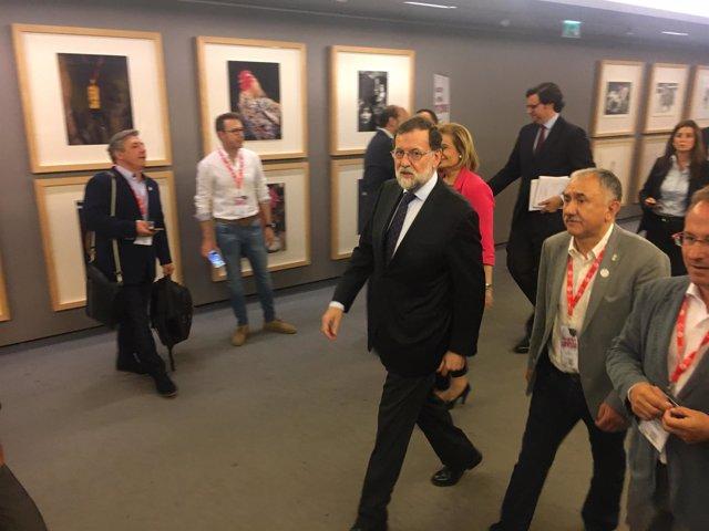 Rajoy en la clausura de la jornada sobre industria de UGT