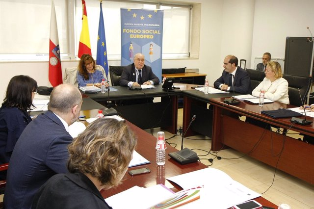 Reunión del comité de seguimiento del Programa del Fondo Social Europeo