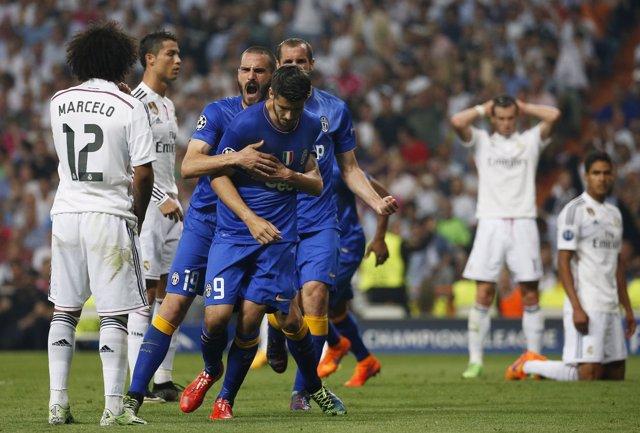 Real Madrid - Juventus, semifinales de la Liga de Campeones