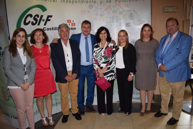Nueva junta directiva de CSIF Ávila