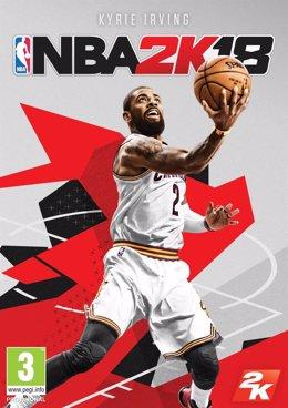 Kyrie Irving, imagen de portada del NBA 2K18