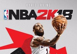 Kyrie Irving, portada del videojuego NBA 2K18