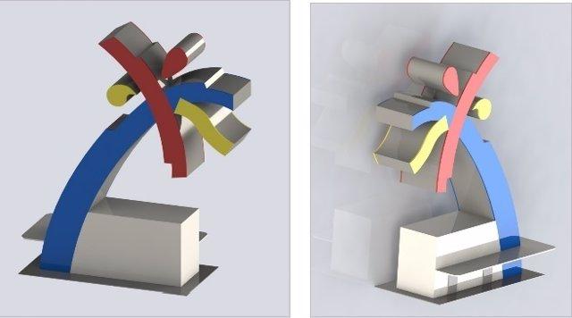 Palmeras tecnológicas como puntos de carga para dispositivos portátiles