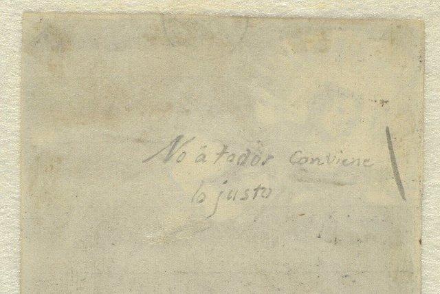 Anotación de Goya encontrada en el Museo del Prado