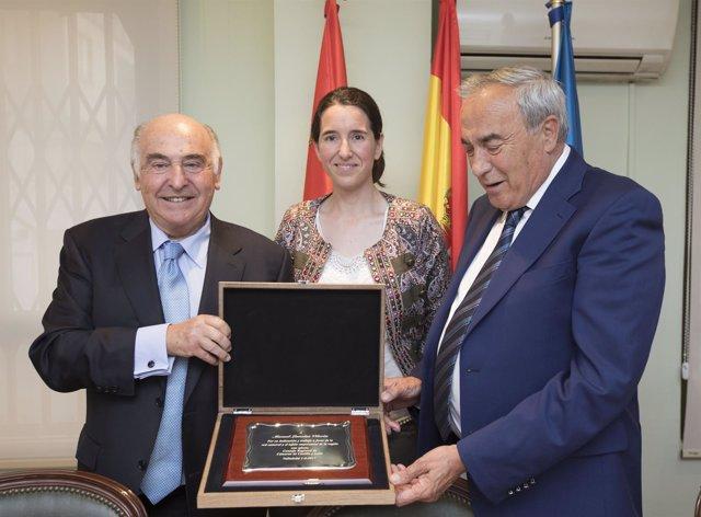 Acto de homenaje a Manuel Lamelas Viloria.