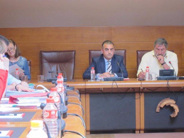 Roberto Media en la comisión de Ecomasa