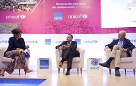 Fundación Aquae y UNICEF renuevan su colaboración para mejorar los servicios de agua de la Amazonía peruana