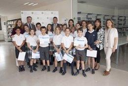Niños de 5º ganadores del CEU Investiga