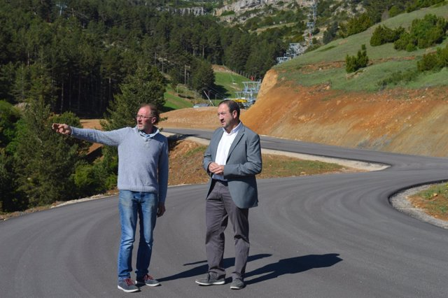 Np Visita Inicio Obras Carretera Acceso Valdelinares A Pistas Esqui