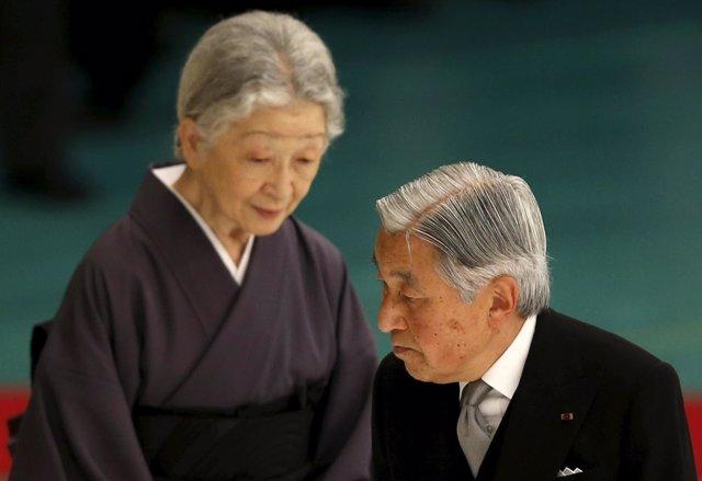El emperador Akihito de Japón