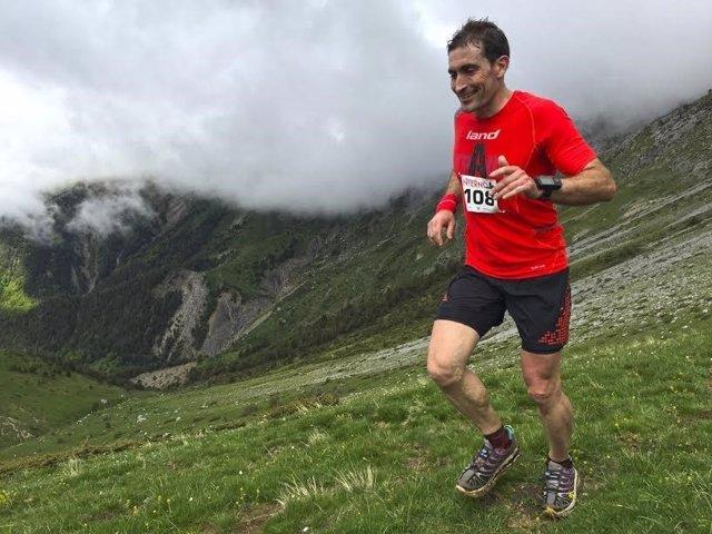Prueba de montaña de trail running 'Crestas del Infierno' en Gavín