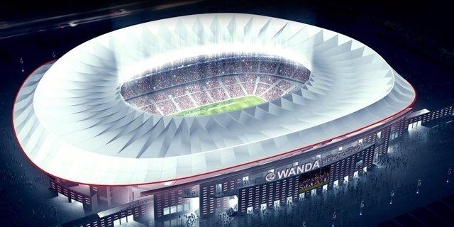 Nuevo estadio Wanda Metropolitano del Atlético de Madrid