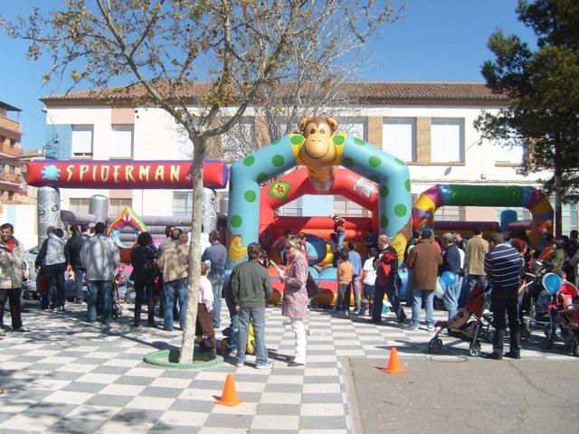 Hinchables Para Niños En Ejea De Los Caballeros (Zaragoza)