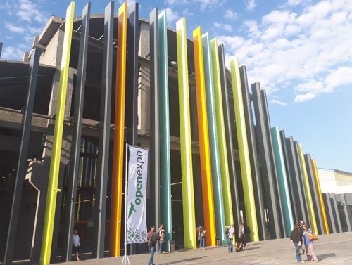 Celebración de OpenExpo 2017 en La N@ve de Madrid