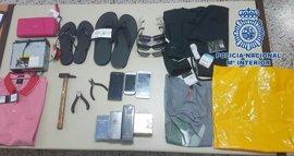 Detenidas tres personas, una de ellas menor, por robar en Las Teresitas (Tenerife)