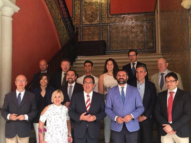 Reunión del patronato de la FAO.