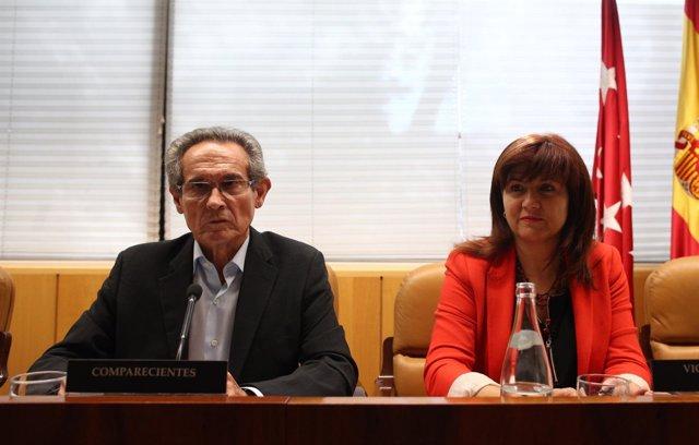 Antero Ruiz comparece en la comisión de investigación de la Asamblea de Madrid