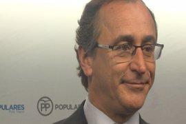 Alfonso Alonso clausurará el Congreso del PP de Gipuzkoa que se celebra este sábado en San Sebastián