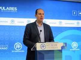 """El PP pregunta qué inversiones no va a realizar la Junta y por un """"recorte"""" de 40 millones"""