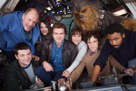 Star Wars: Filtrada una nueva imagen del rodaje de la película de Han Solo en Fuerteventura