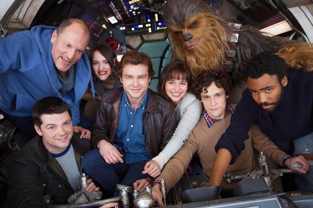 El elenco de actores de la película de Han Solo