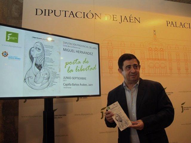 Presentación del ciclo de conferencias 'Miguel Hernández, poeta de la libertad'.
