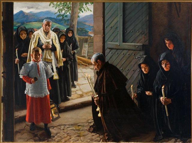 ÛUn Viático en el Baztan', de Javier Ciga