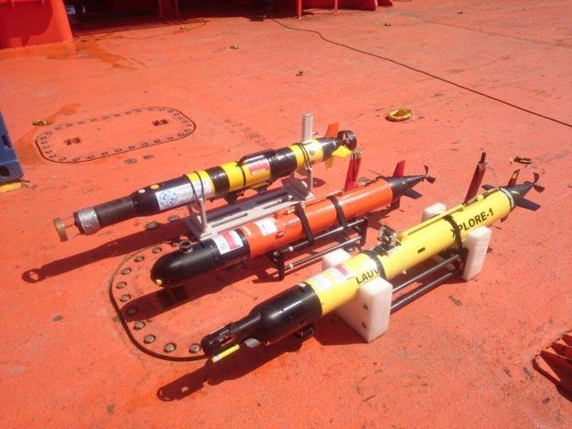 Drones utilizados durante las maniobras realizadas en 2015 en Cartagena