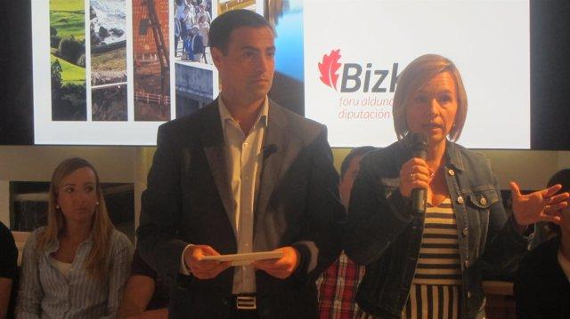 Imanol Pradales Y Ainara Basurko