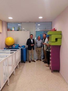 Visita a un centro de atención para menos con discapacidad en Guadix (Granada)