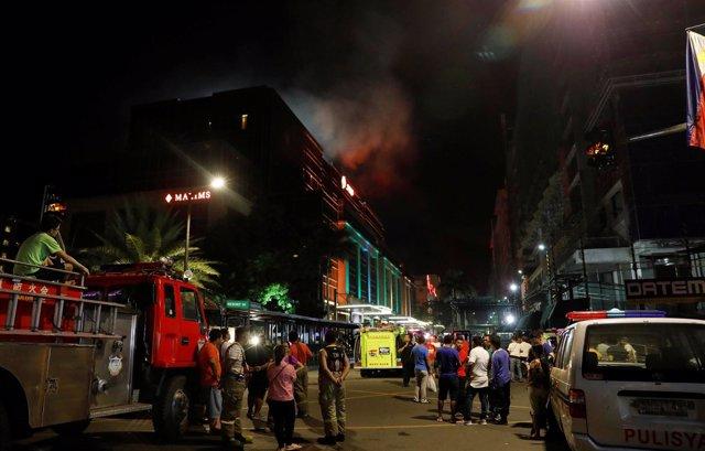 Ataque contra el complejo Resorts World en Manila