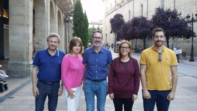 Candidatura de Antoñanzas para dirigir el PR+