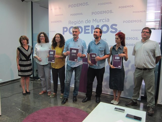 Miembros 'Más Podemos, Más Profundización Democrática'