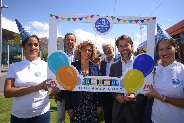 Nota De Prensa Y Fotografías: Aniversario Tranvía Estafeta Correos