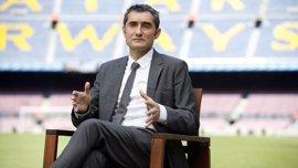 """Valverde: """"Reconozco que no triunfé como jugador en el Barcelona"""""""
