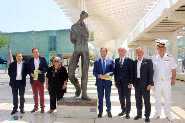 Exposición en el puerto de Málaga