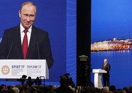 Putin acusa a EEUU de interferir sistemáticamente en sus asuntos antes de que llegara Trump