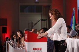 """La nueva líder de CCOO-A promete pasar """"a la ofensiva"""" en la lucha por recuperar derechos"""